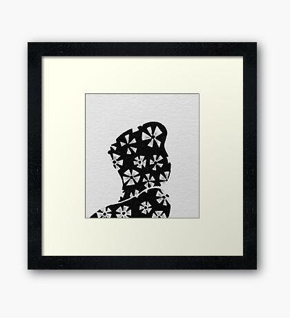 Pinwheel President v2 Framed Print