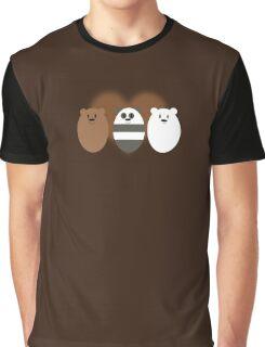 Three Little Bears Graphic T-Shirt