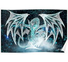 Crystal dragon Quinna Poster