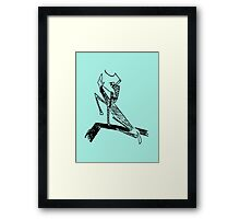 Horse and Rider 1909-1910 (KafkArt) Framed Print