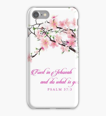 Yeartext 2017 -Cherry Blossom iPhone Case/Skin