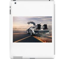 Back to the Future Delorean iPad Case/Skin
