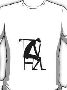 The Thinker 1913 (KafkArt) T-Shirt
