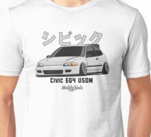 Honda Civic EG4 USDM (silver) Unisex T-Shirt