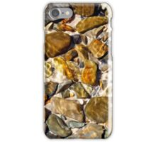 Submerged Cobbles iPhone Case/Skin