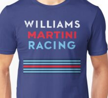 WILLIAMS MARTINI RACING F1 Team Unisex T-Shirt