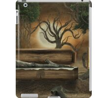 The loss of a friend iPad Case/Skin