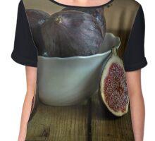 Still life with fresh figs Chiffon Top