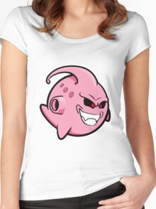 Evil Kid Boo T-shirts Women's Fitted Scoop T-Shirt