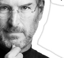 Apple pen steve jobs Sticker