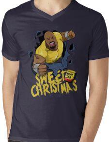 Luke Cage - Sweet Christmas Mens V-Neck T-Shirt