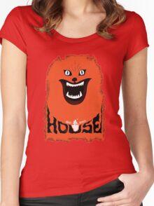 House (hausu) - Logo Women's Fitted Scoop T-Shirt