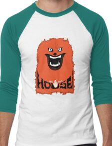 House (hausu) - Logo Men's Baseball ¾ T-Shirt