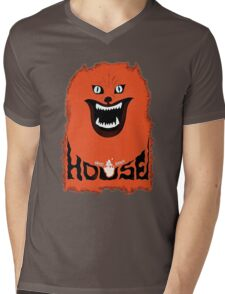 House (hausu) - Logo Mens V-Neck T-Shirt