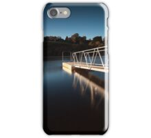 Lliw Valley Reservoir jetty iPhone Case/Skin