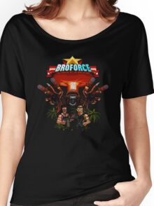 Broforce Soldier Women's Relaxed Fit T-Shirt