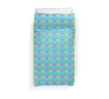 Doughnuts and dots pattern Duvet Cover