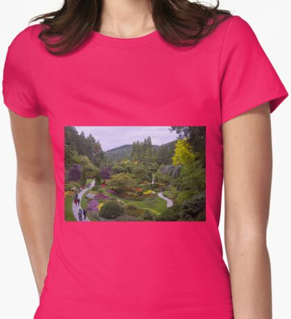 Come To The Garden Womens Fitted T-Shirt