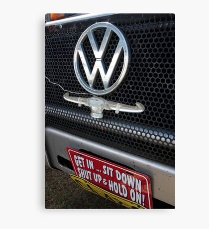 Get in............................! Canvas Print