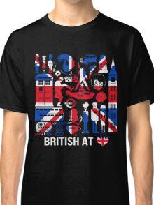 British At My Heart Lover Birthday Gift T-Shirt Classic T-Shirt