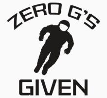 Zero G's Given by DesignFactoryD