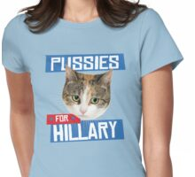 Pussies for Hillary Womens Fitted T-Shirt