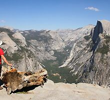 Glacier Point view by Kathryn Steel