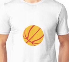 Basketball Ball Isolated Retro Unisex T-Shirt