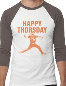 Happy Thorsday Men's Baseball ¾ T-Shirt