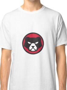 American Black Bear Head Circle Retro Classic T-Shirt