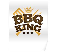 BBQ KING Poster