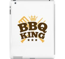 BBQ KING iPad Case/Skin