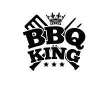 BBQ KING Photographic Print