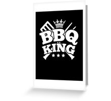 BBQ KING Greeting Card