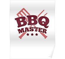 BBQ MASTER Poster