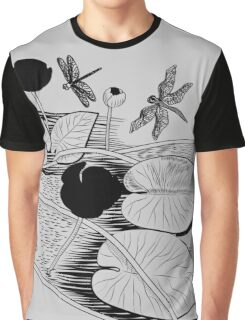 Water-lilies  Graphic T-Shirt