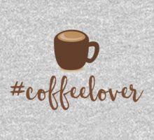 #Coffeelover (hashtag coffee lover) Kids Tee