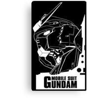 Gundam - Mobile Suit Gundam Canvas Print