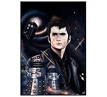 David Tennant as Doctor Who Photographic Print