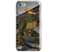 MrWetpaint x Turtles - Mikey iPhone Case/Skin