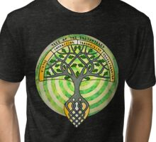 Tree of the Enlightened 002 Tri-blend T-Shirt