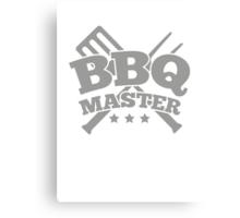 BBQ MASTER Canvas Print
