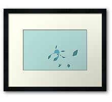 Mineon 471 Glaceon Framed Print