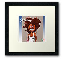 Whitney Houston Cover Parody Framed Print