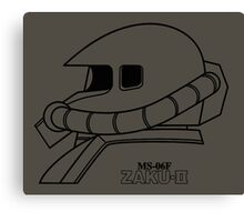 Gundam - MS-06F Zaku II Canvas Print