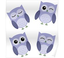 Owls be Everywhere! Poster