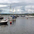 Crinan Harbour by Lynn Bolt