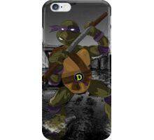 MrWetpaint x Turtles - Donny iPhone Case/Skin