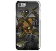 MrWetpaint x Turtles - Donny iPhone Case/Skin