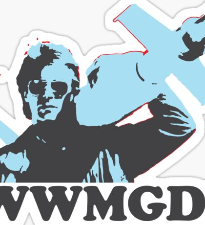 What Would MacGyver Do? Sticker